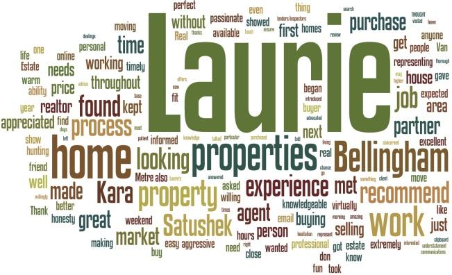 Laurie Satushek Testimonials